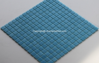 Blue Pool Tiles Quartz